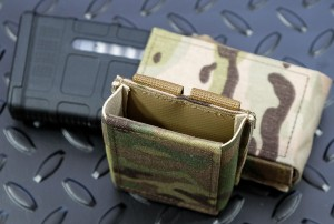 GTG & Bayonet pouch SpeedM4 for magazines compatible with AR15 Multicam
